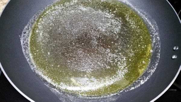 Pan of Olive Oil and Butter