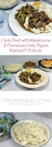 Garlic Beef with Mushrooms