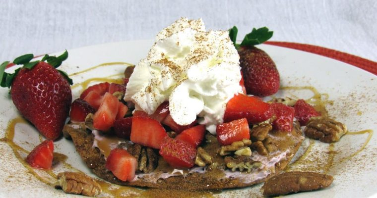 Dessert Tostada Recipe