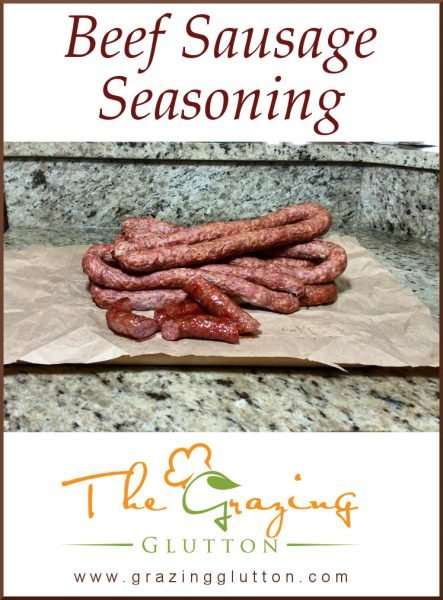 Beef Sausage Seasoning
