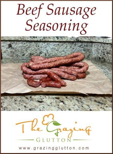 Beef Sausage Seasoning