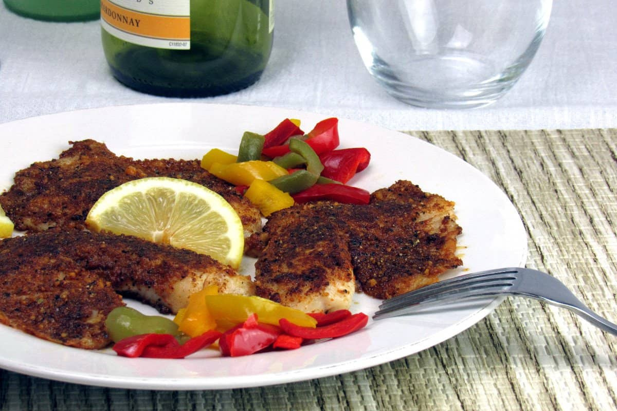 Walnut Crusted Tilapia Recipe