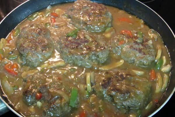 Meatloaf Patties with Gravy Recipe