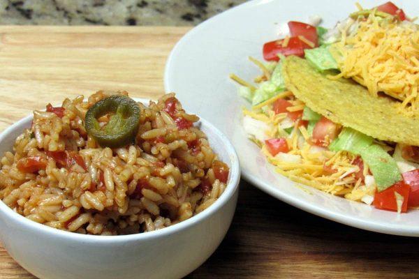 Spanish Rice Recipe - Tex Mex Sides